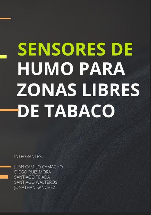 Sensores de humo para zonas libres de tabaco
