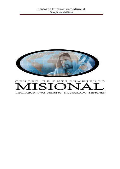 Centro de Entrenamiento Misional