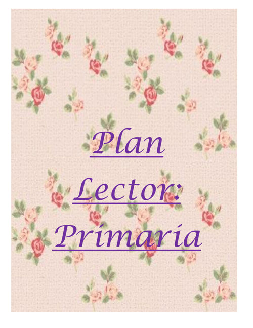 Plan lector inesino - inicial