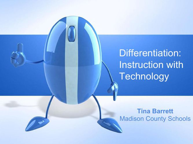 Differentiation with technology (1)