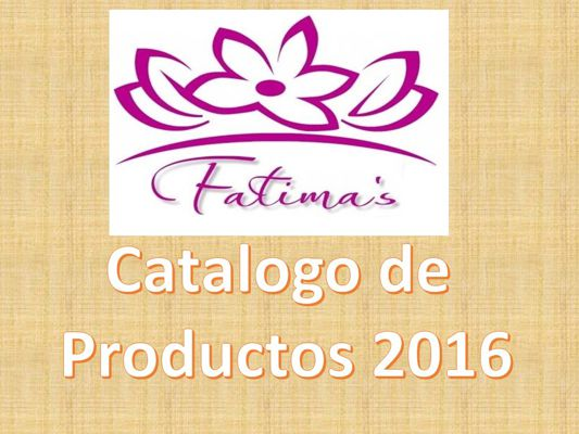 Fatimas Catalogo 2016