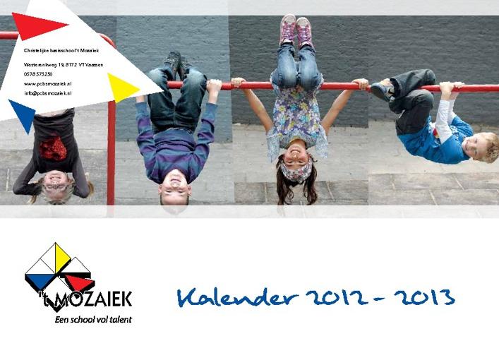 jaarkalender 2012-2013