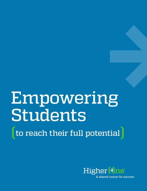 Higher One Empowering Students To Reach Their Full Potential