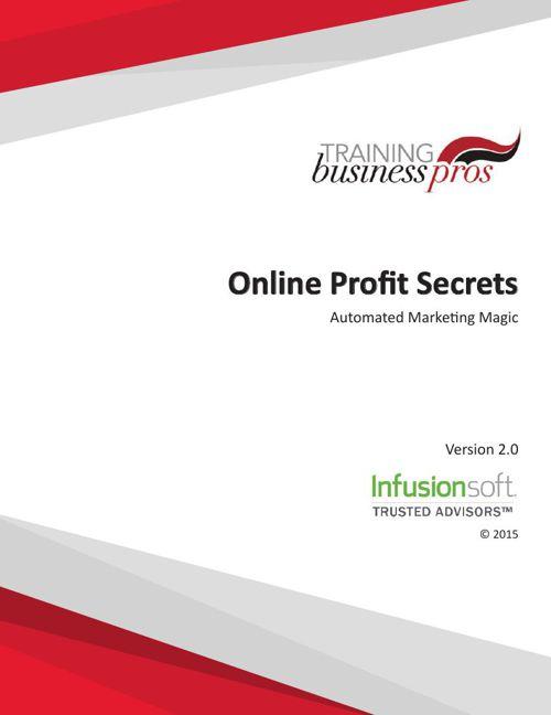 Online Profit Secrets Training Course
