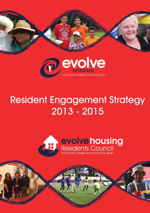 Resident Engagement Strategy 2013 - 2015