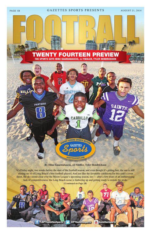 Gazette Sports   August 21, 2014