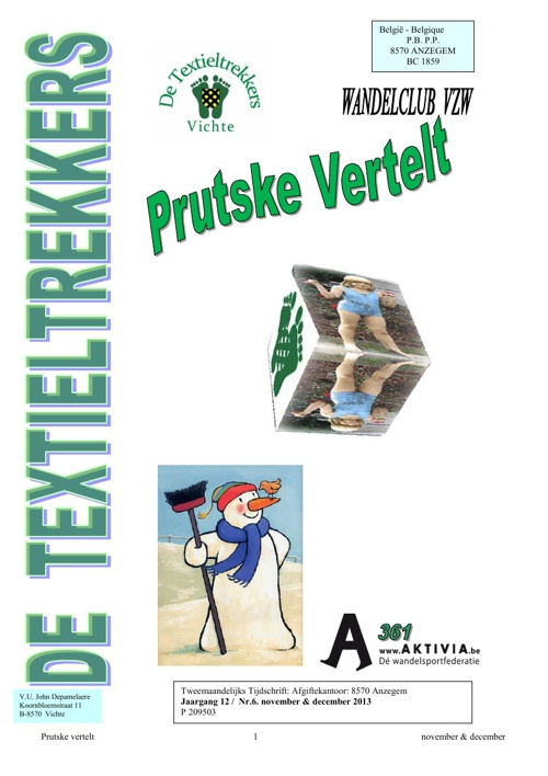 Prutske Vertelt : November - December 2013