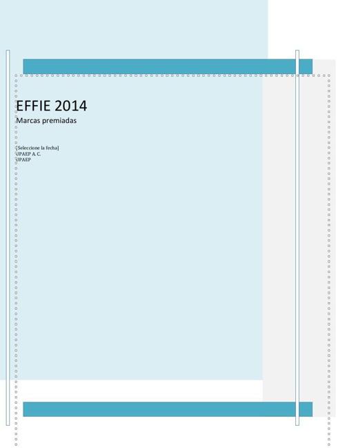 EFFIE 2014 sesion 12