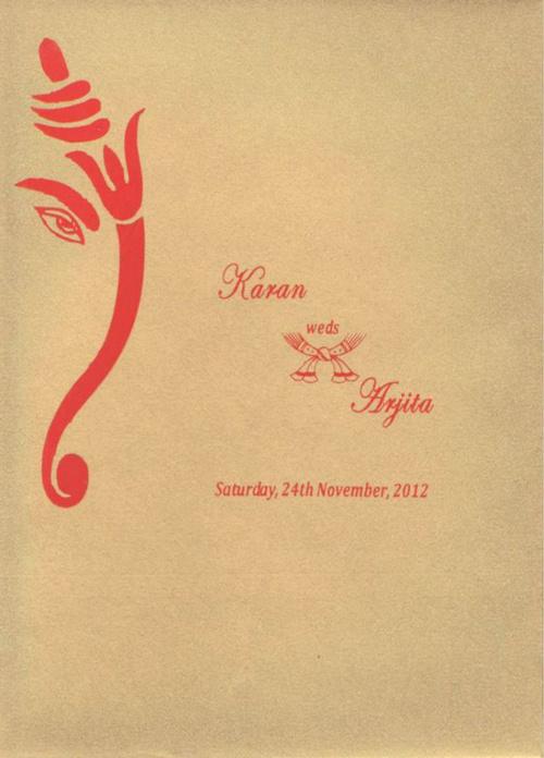 """""""Karan weds Arjita"""""""