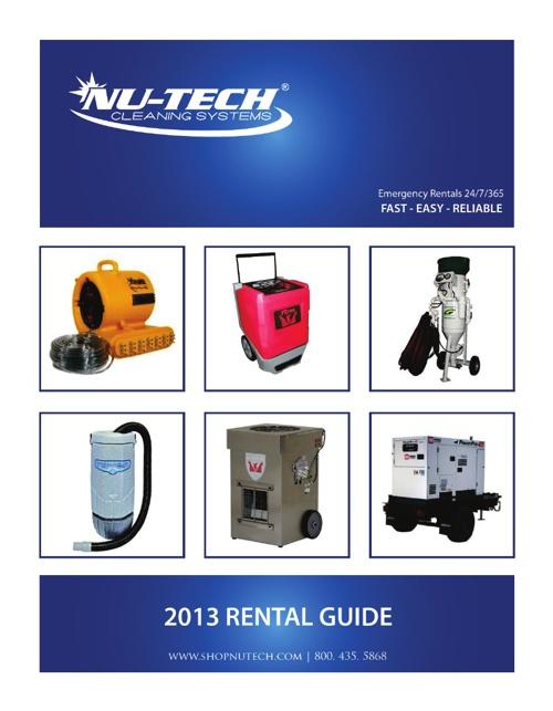 Nu-Tech Rental Guide