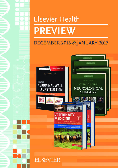 Elsevier Health Preview December 2016 & January 2017