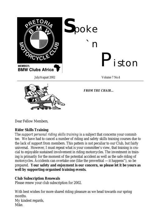 Spoke & Piston July 2002
