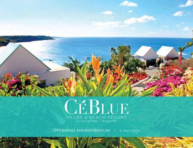 CéBlue sale Memorandum