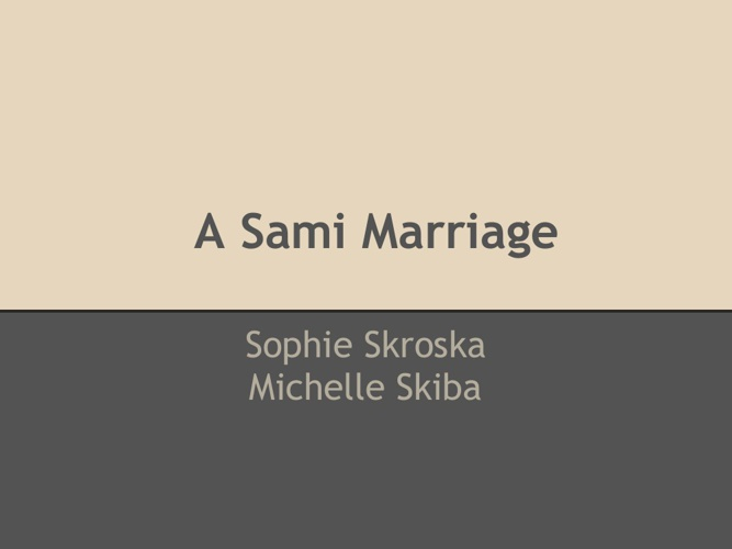 Block 2 - Sami Wedding Album