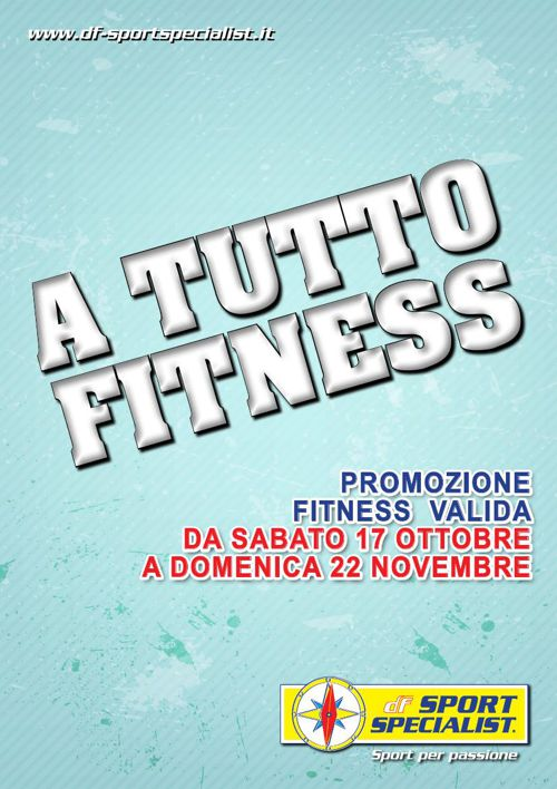 Volantino promozioni Fitness Ottobre 2015