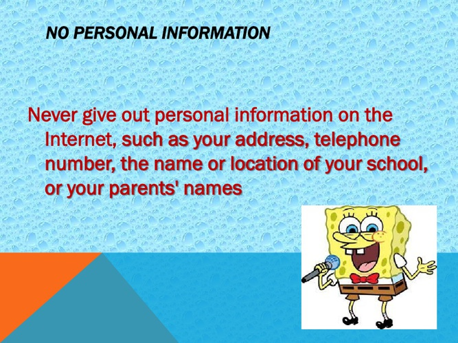 SpongeBob and His Safety Tips