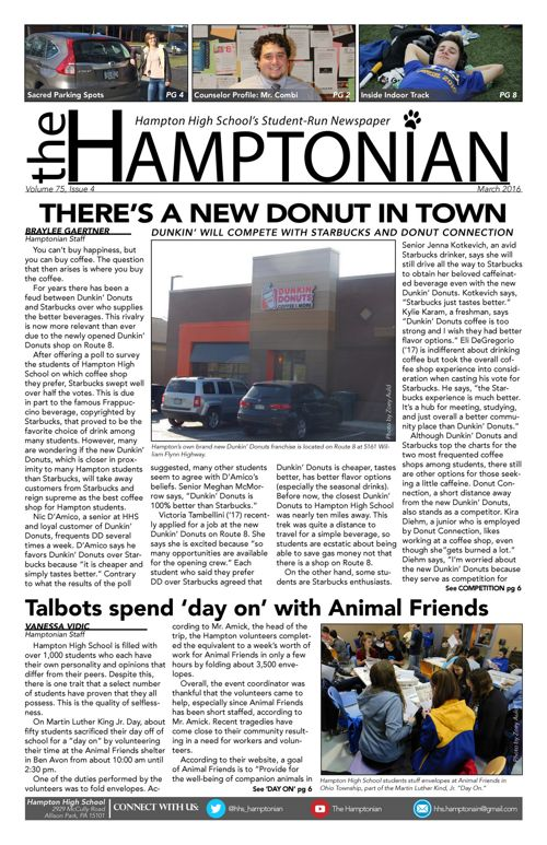 The Hamptonian - March 2015