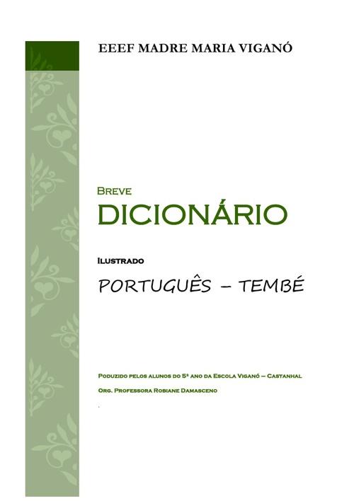 Dicionário Tembé