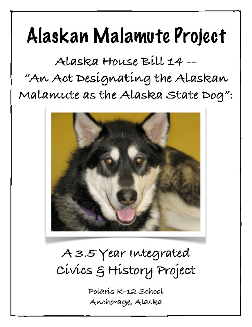 Alaskan Malamute for State Dog Project