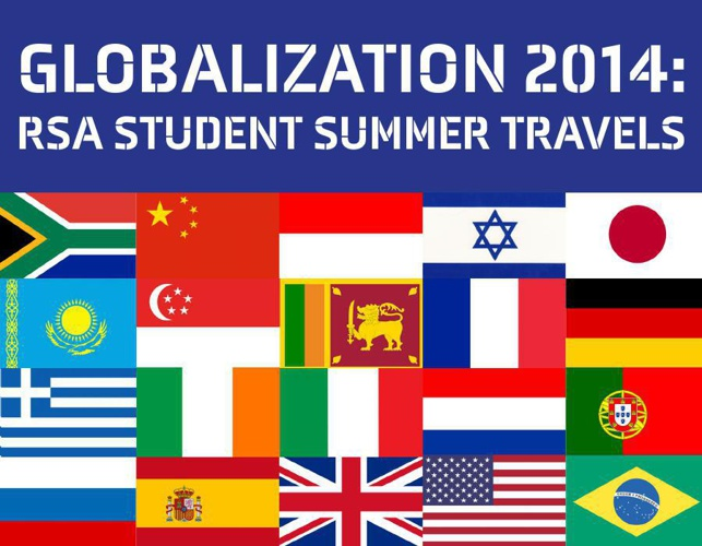 Globalization 2014: Student Summer Travels