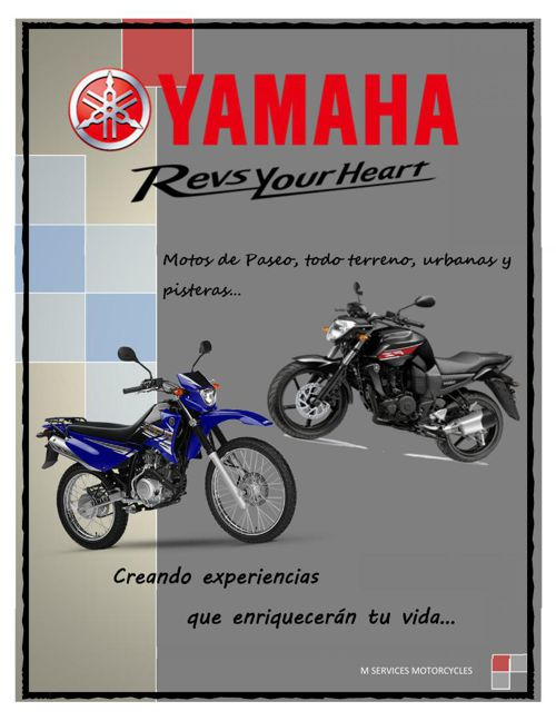 M SERVICES MOTORCYCLES YAMAHA
