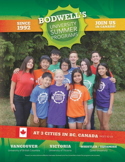 Bodwell's University Summer Program