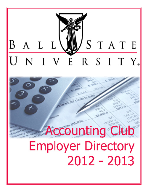 Accounting Club Directory 2012-2013