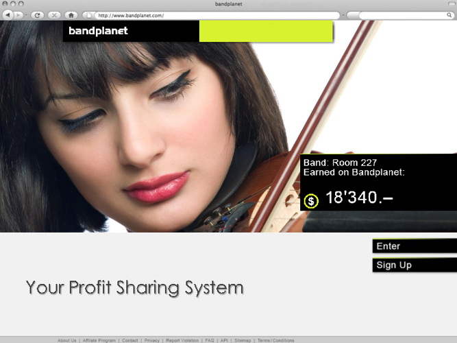 bandplanet Premium Club - Profit Sharing