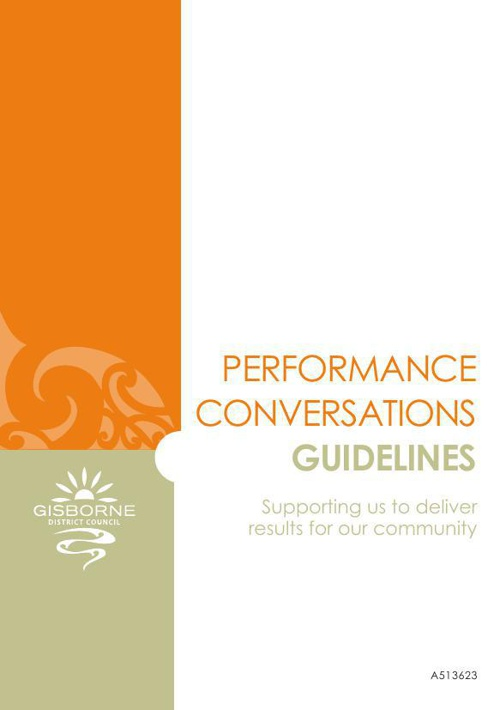 Performance Conversations Guidelines