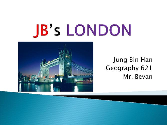 JB's LONDON