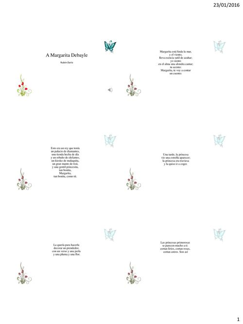 A Margarita Debayle como documento