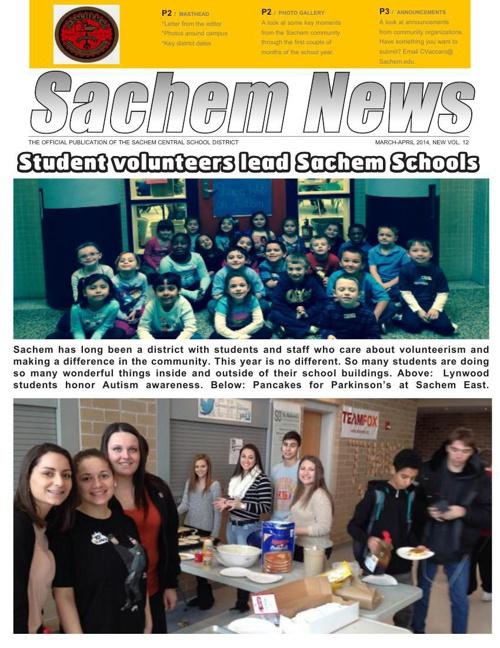 Sachem News, April 2014