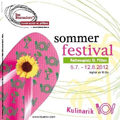 Programmheft Sommerfestival
