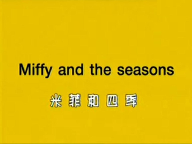 Miffy and the seasons