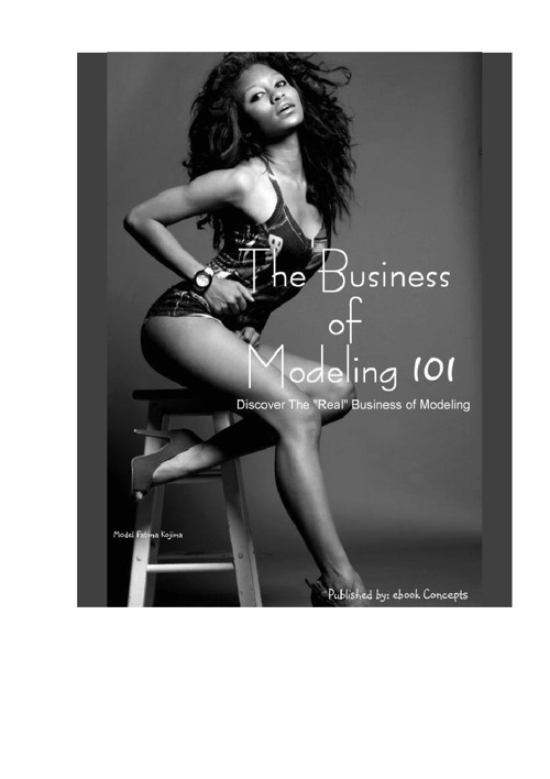 The Business of Modeling 101