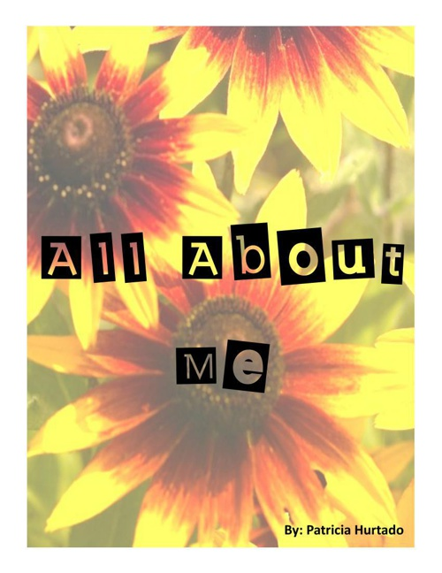 All About Me: 3rd Nine Weeks