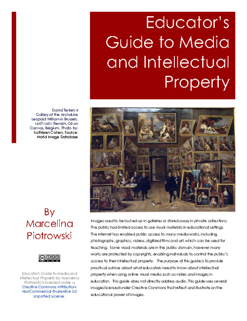 Educator's Guide to Media and Intellectual Property