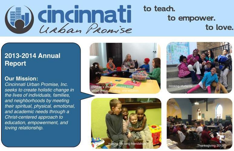 Cincinnati Urban Promise Annual Report