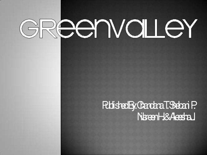 GreenValley (random)