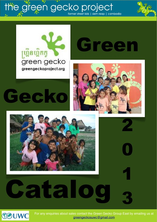 Green Geckos Catalog 2013