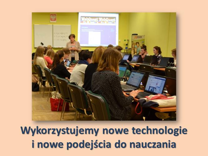 """Fotoreportaż """"Edukacja na Nowo"""""""