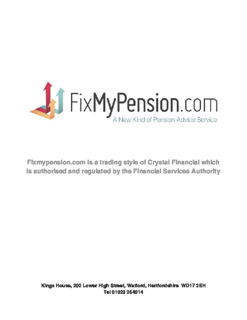 FixMyPension Booklet