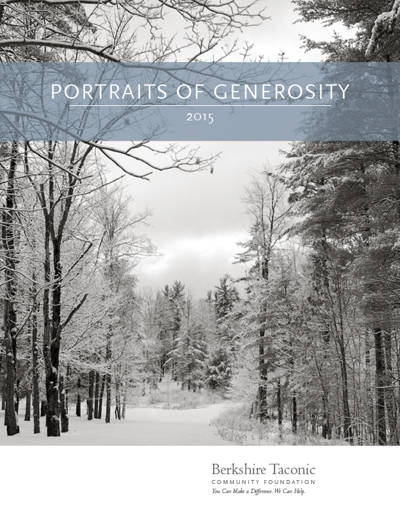 Portraits of Generosity 2015