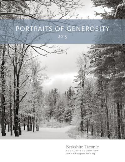 Portraits of Generosity 2015