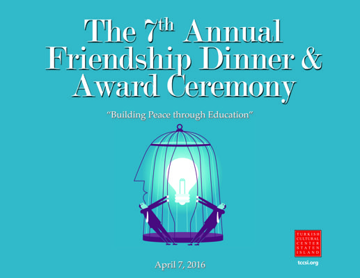 The 7th Annual Friendship Dinner & Award Ceremony