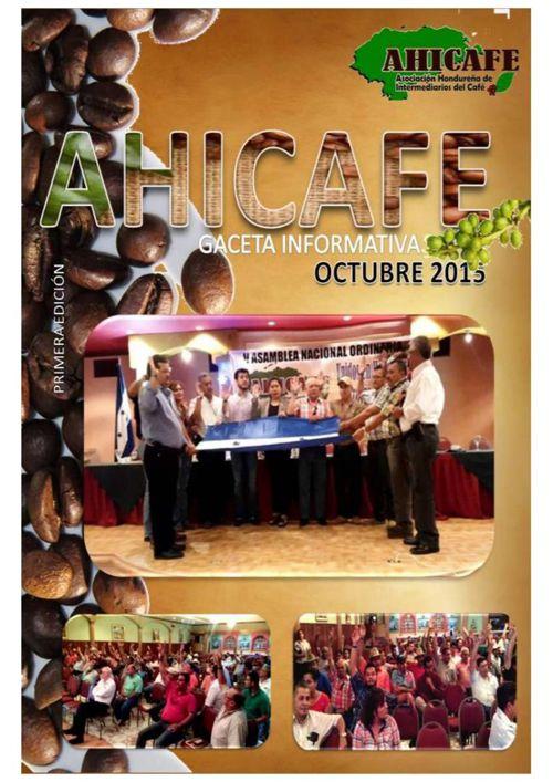 AHICAFE GACETA  OCTUBRE 2015 PDF
