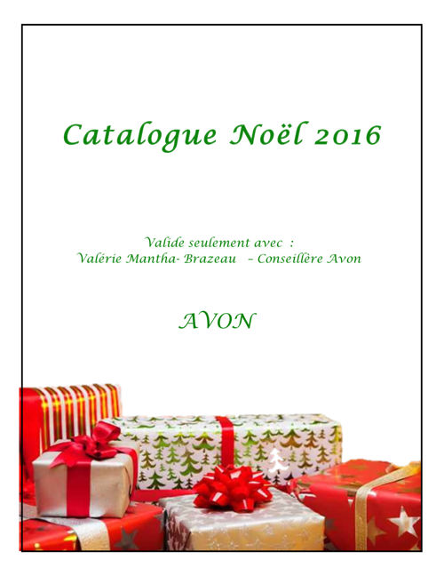 catalogue de noel 2016-2017