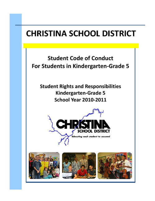 10-11 Elementary Student Code of Conduct [English]