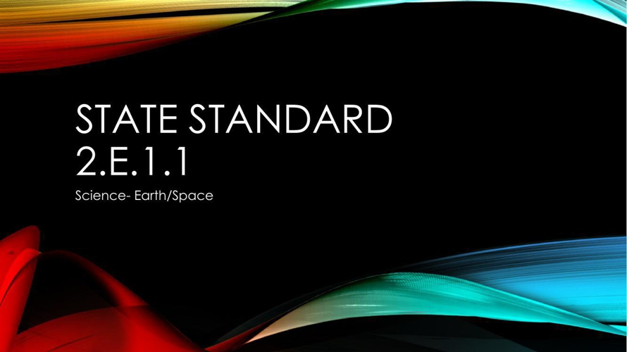 State Standard powerpoint