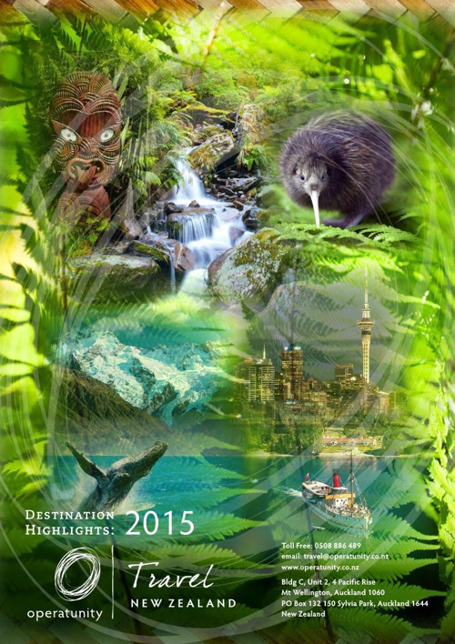 2015 NZ Travel Destinations